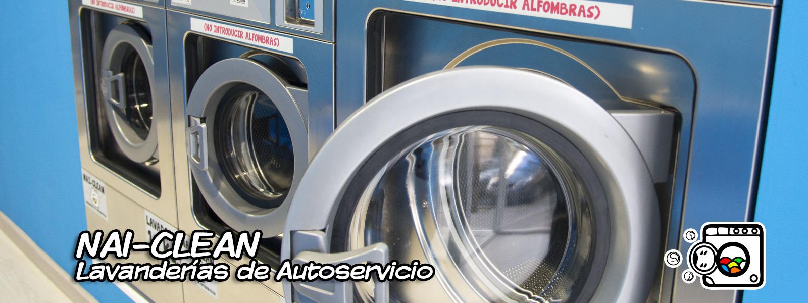 Slider NAI-CLEN Lavanderías de Autoservicio N2